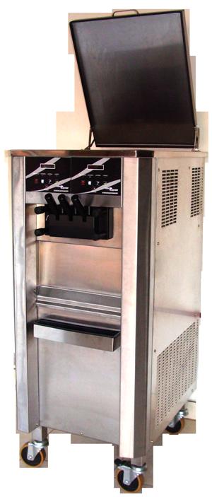 Máquina de Sorvete Expresso Tecno Express Pressurizada Super