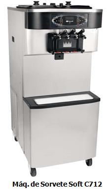 Máquina de sorvete expresso Taylor C712