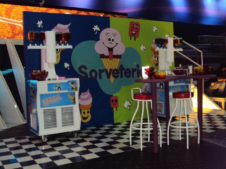 Aluguel de máquinas de sorvetes para festas