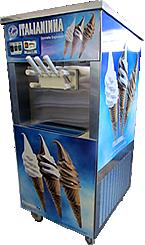 Calcule seu orçamento antes de comprar a máquina de sorvete expresso Italianinha