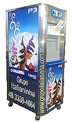 Preço da Máquina de Sorvete Expresso Italianinha P3