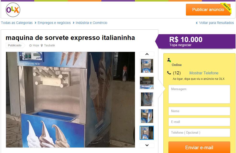 anuncio-maquina-sorvete-expresso-olx