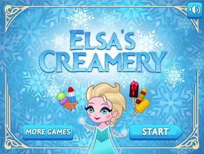 Sorvetes da Elsa