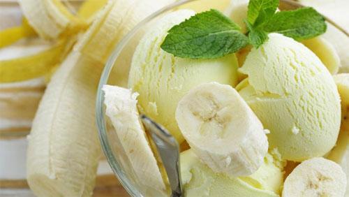 Como fazer sorvete banana
