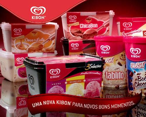 Como revender sorvetes Kibon