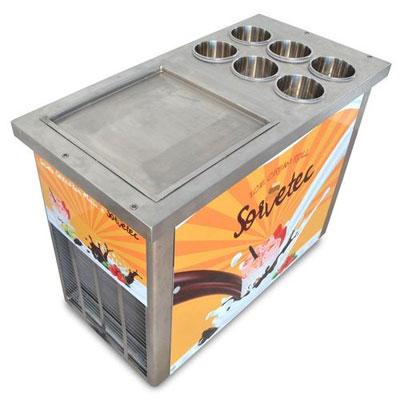 Máquina de sorvete na chapa preço